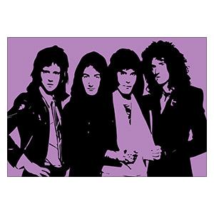 Портретный постер Queen